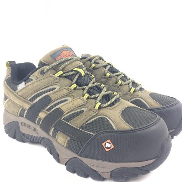 06958315ee Merrell MOAB Vent 2 Steel Toe Work Shoes $125